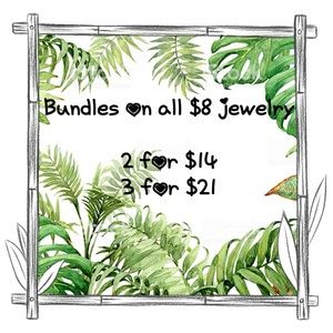 Jewelry - Bundles for all $8 priced jewelry 📣💖